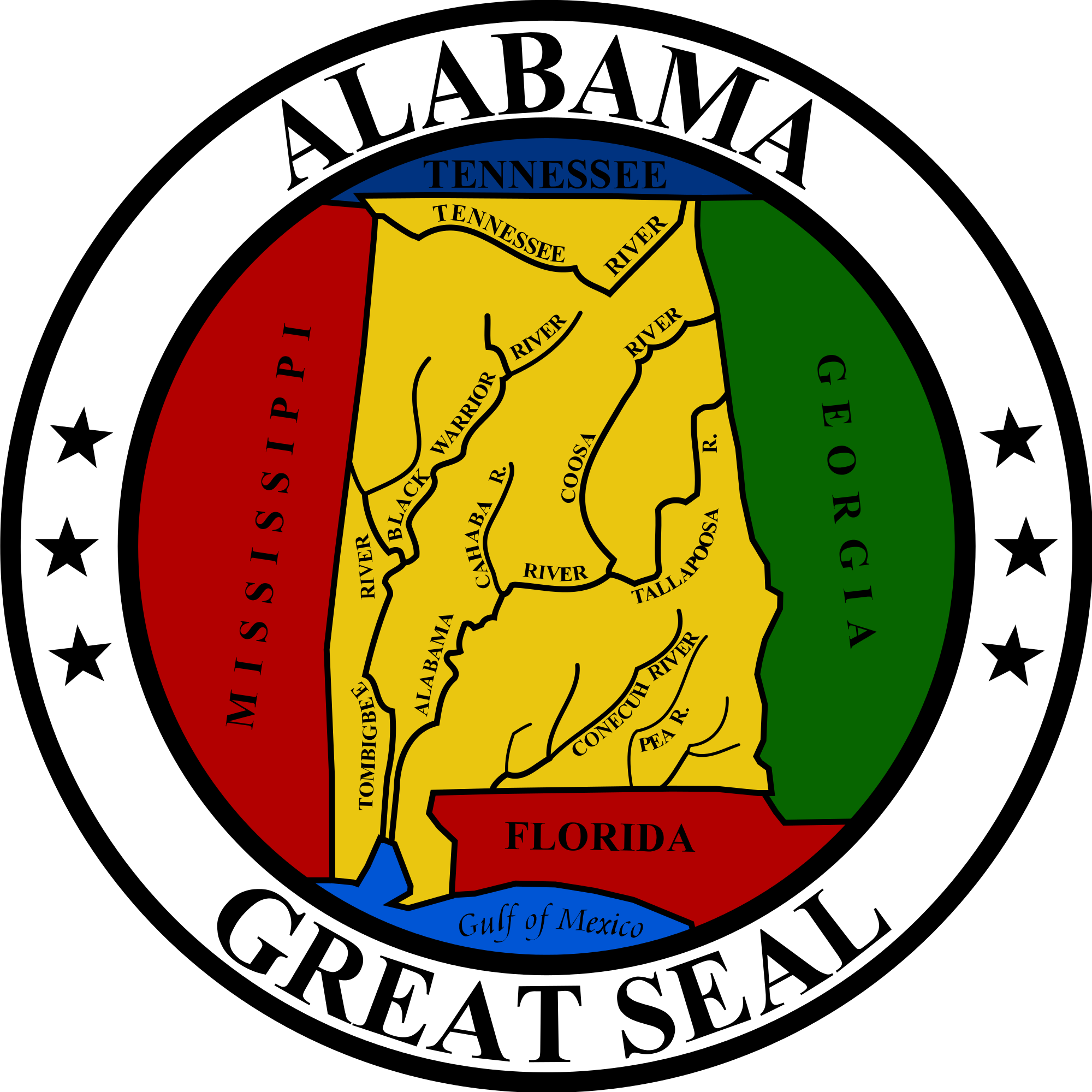 great seal of alabama