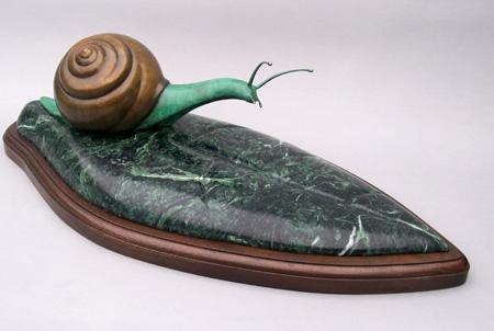 snail scupture
