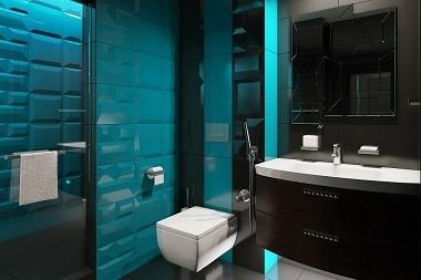 Дизайн ванной с душевой Хабаровск