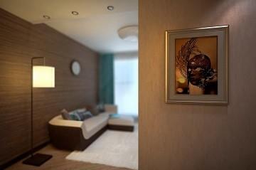 Дизайн двухкомнатной квартиры в Хабаровске