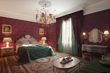 Дизайн роскошной спальни спальни