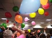 Adults having a celebration