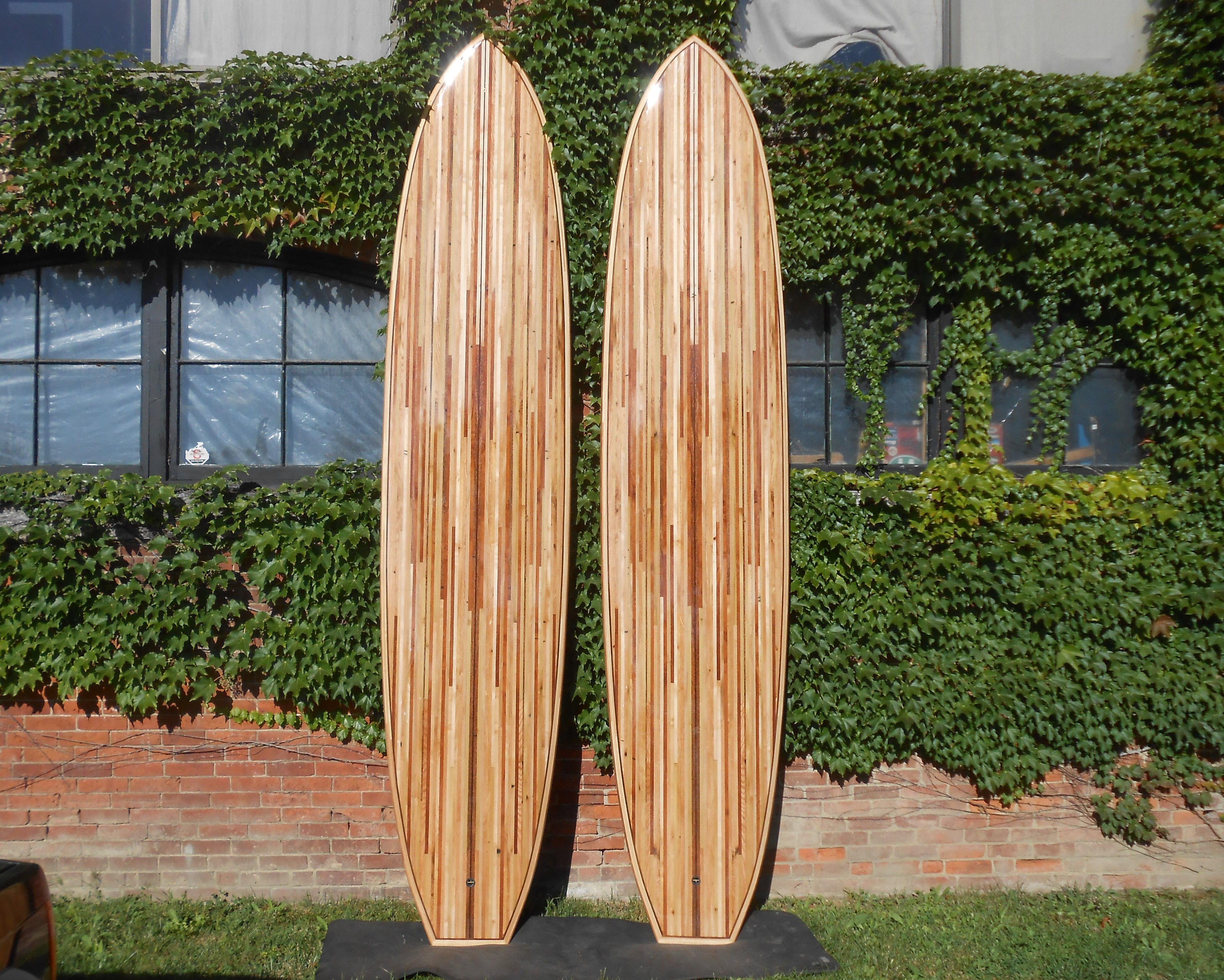 12' pallet wood stand up paddle boards 001