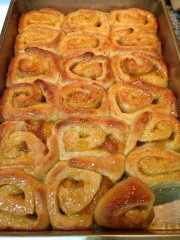 Sweet Sticky Orange Scrollss
