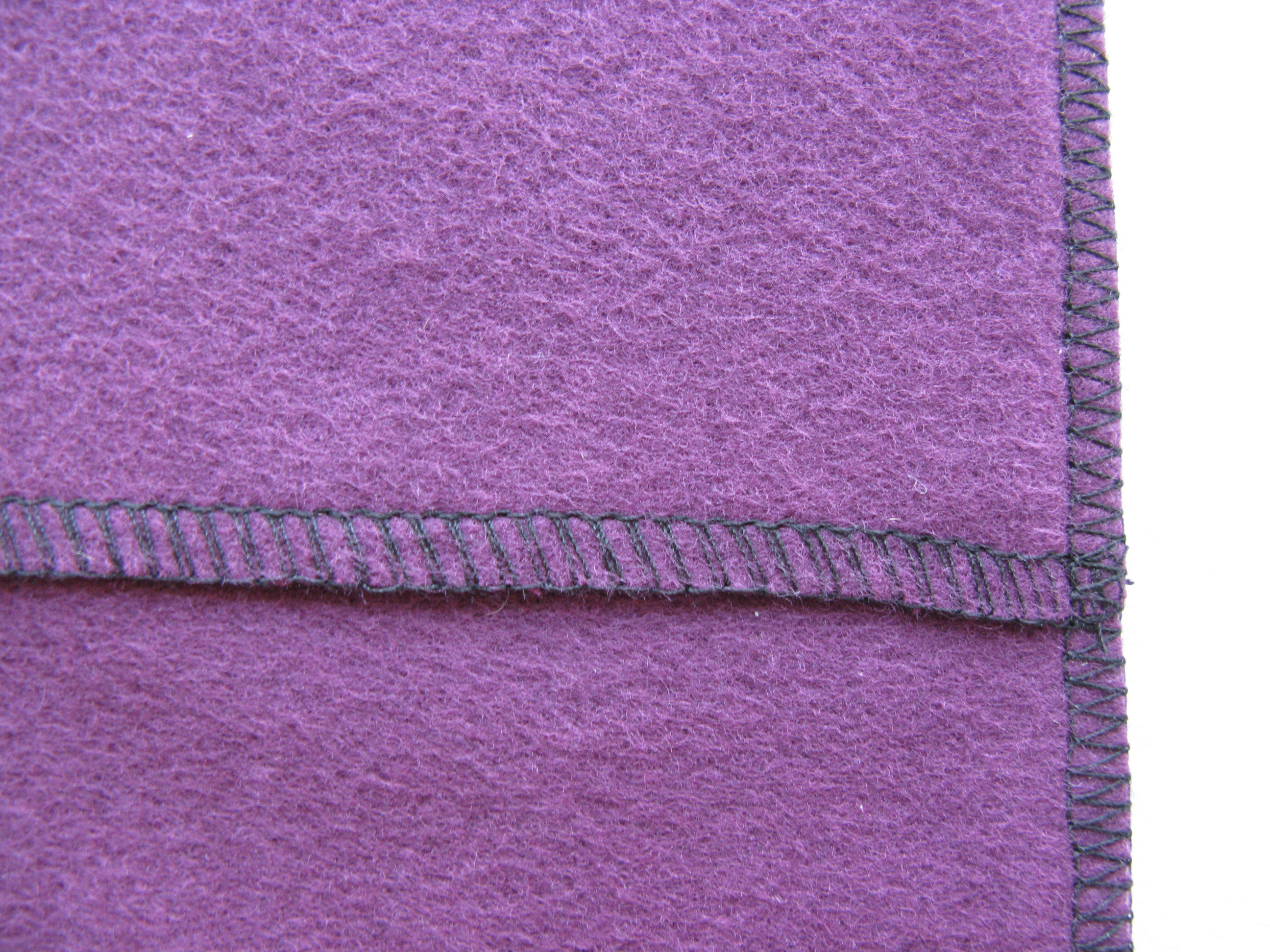 Thread made by serger machine