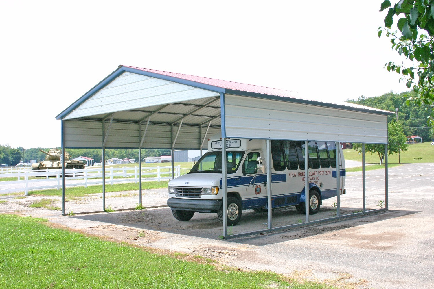 Abingdon VA Metal Carports