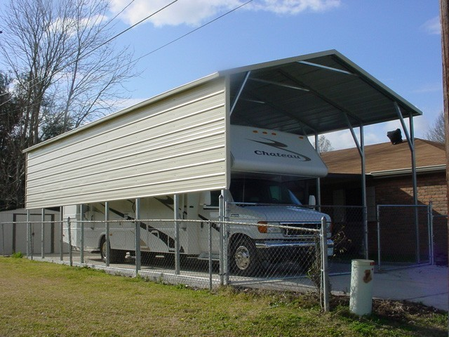 Metal RV Cover