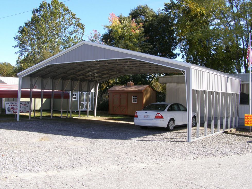 40 Wide Carports Tennessee TN