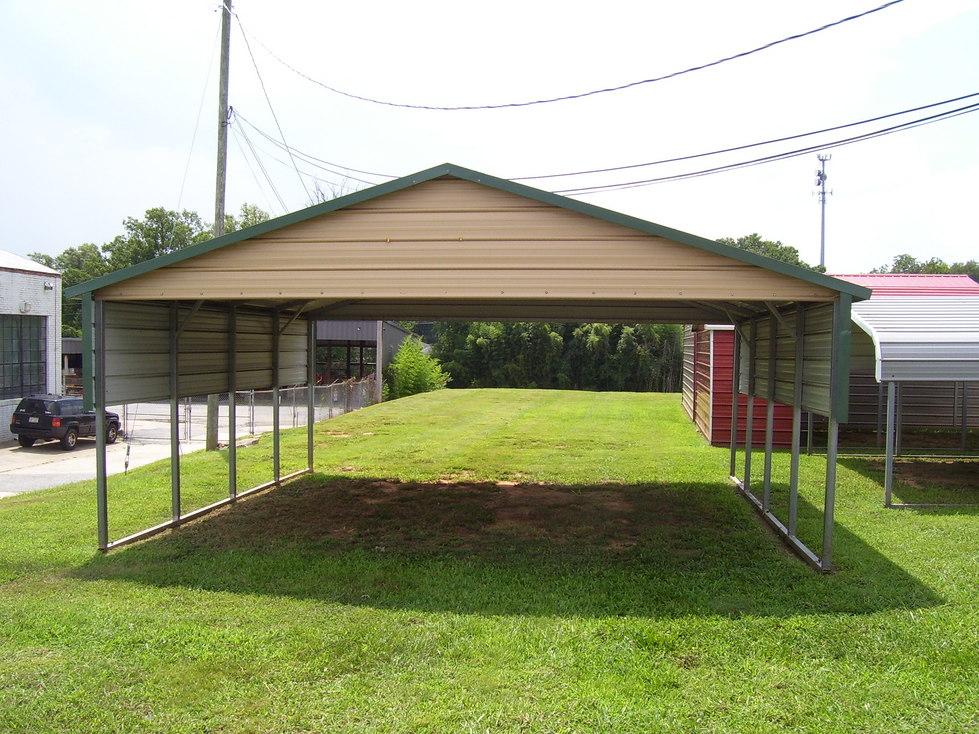 Steel Carports North Carolina NC
