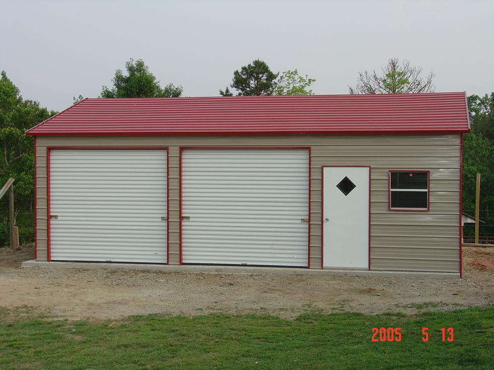 Steel Garages North Carolina NC