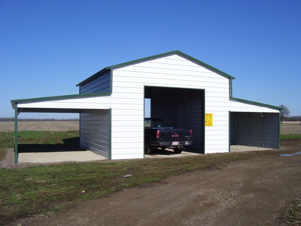 Steel Metal Barns