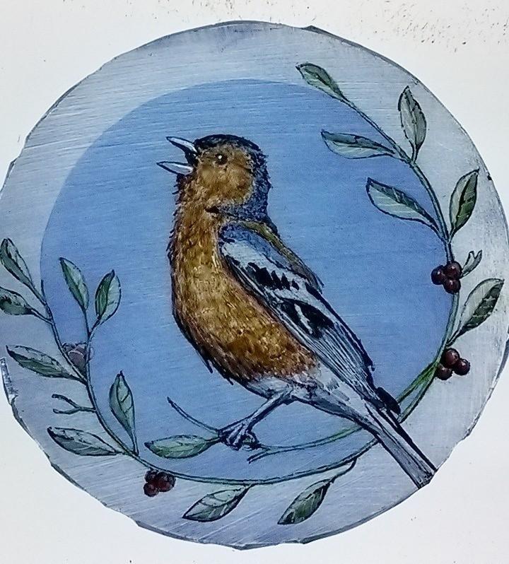 Bird roundel;