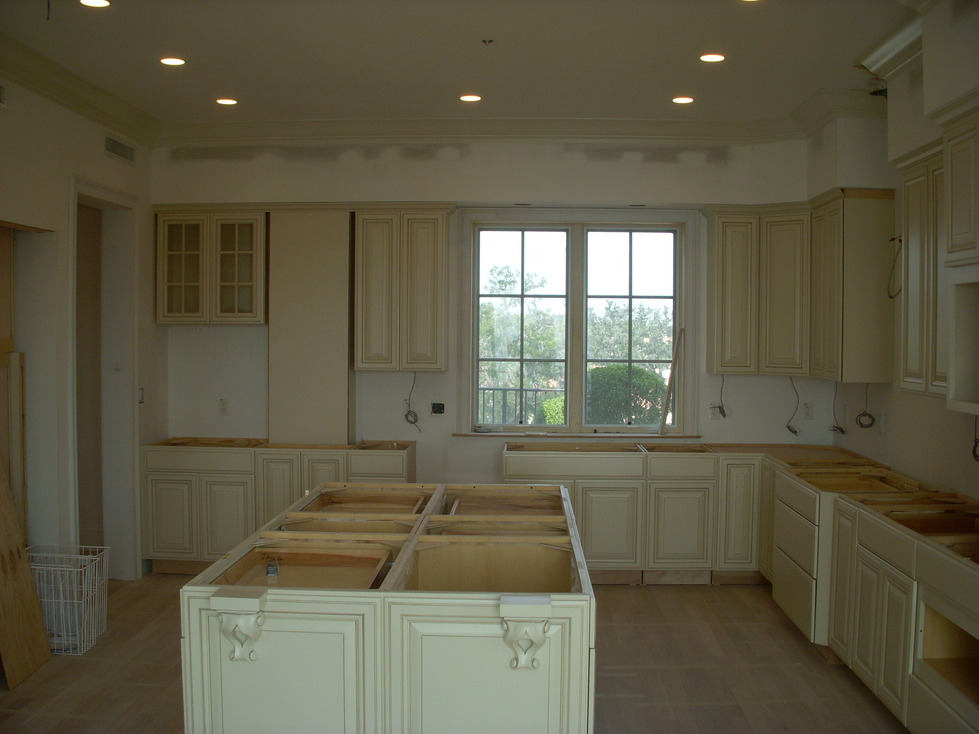 Another picture of pre-countertops.