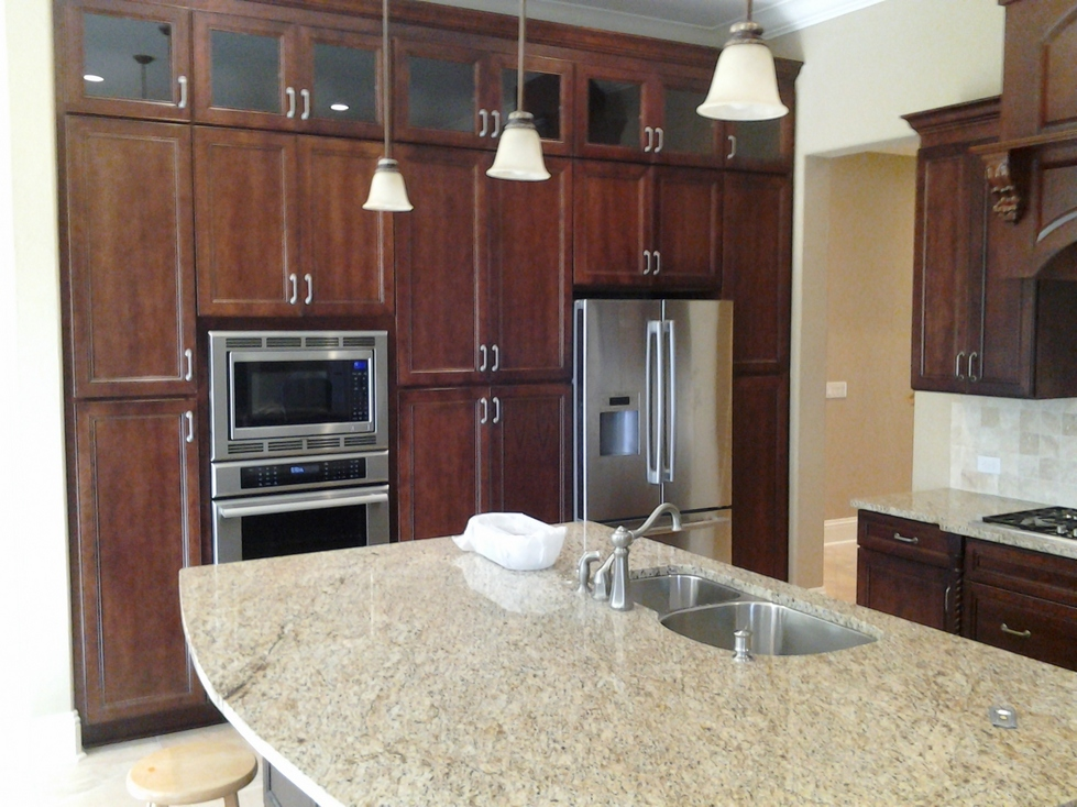 Custom Remodeled Kitchen Cabinets