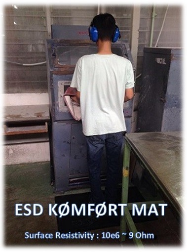 esd anti fatigue industrial mat malaysia