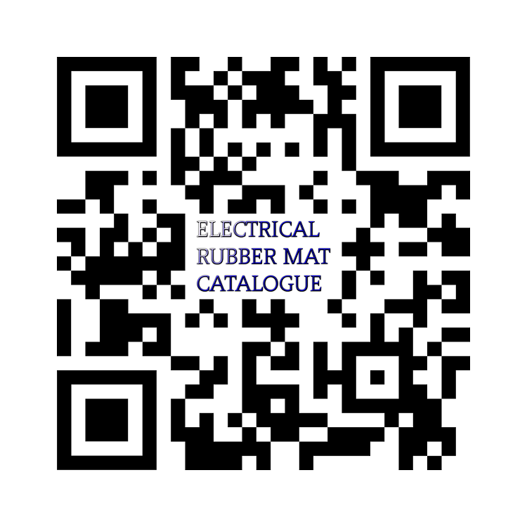 SM QR Code Electrical Insulation Rubber Mat Catalogue Malaysia