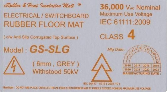 50kv label Malaysia