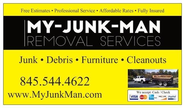 junk removal, debris removal, goshen, warwick, monroe,
