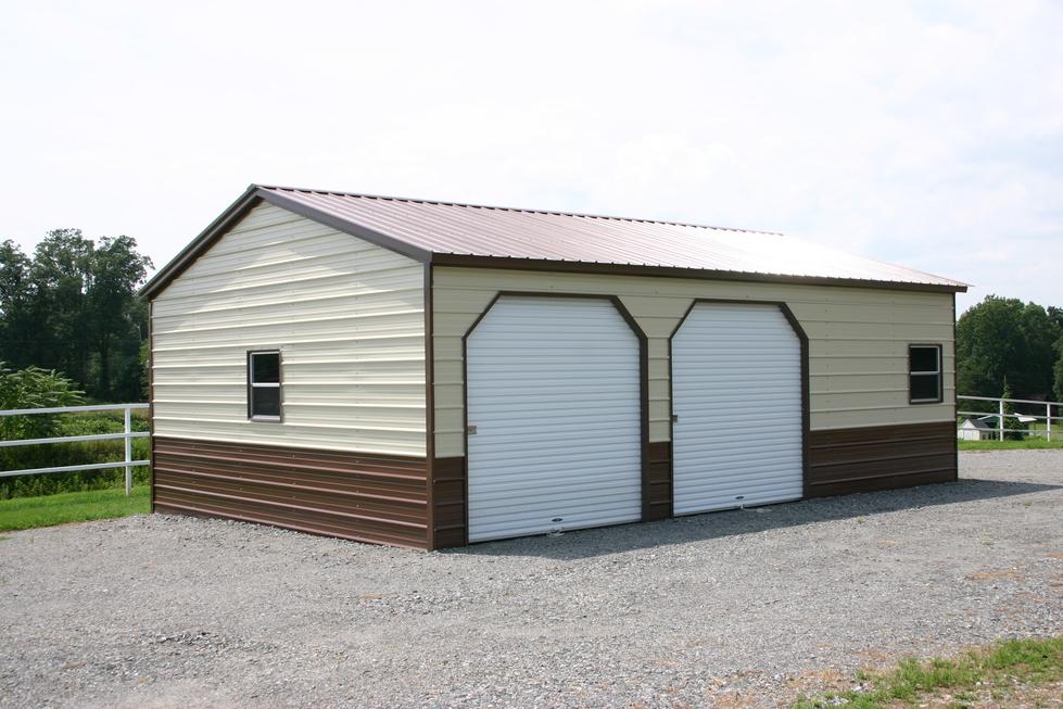 Engineered Metal Garages