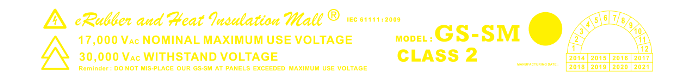 IEC 61111:2009 Class 2 Withstand Voltage Rubber Mat Indonesia