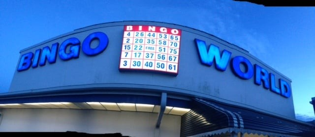 bingo world sign